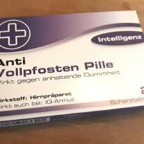 ANTI-VOLLPFOSTEN, die Pille